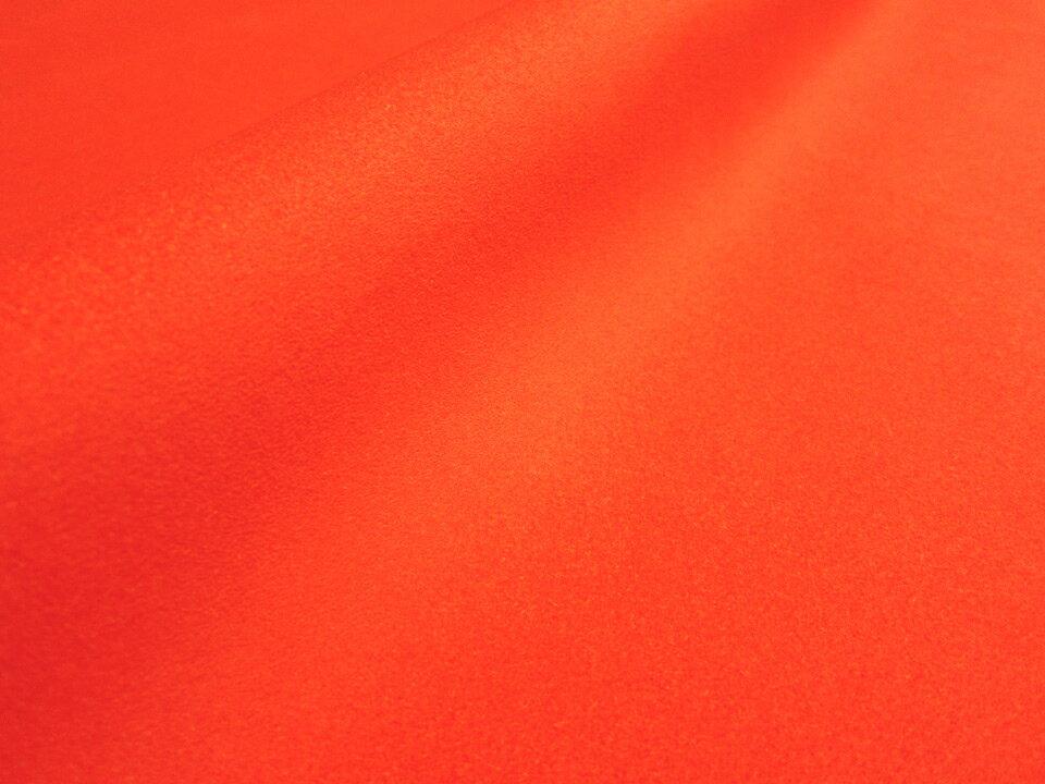 東レ エクセーヌ アルカンターラ【蛍光オレンジ】130×30cm [ECS-KORG C30]