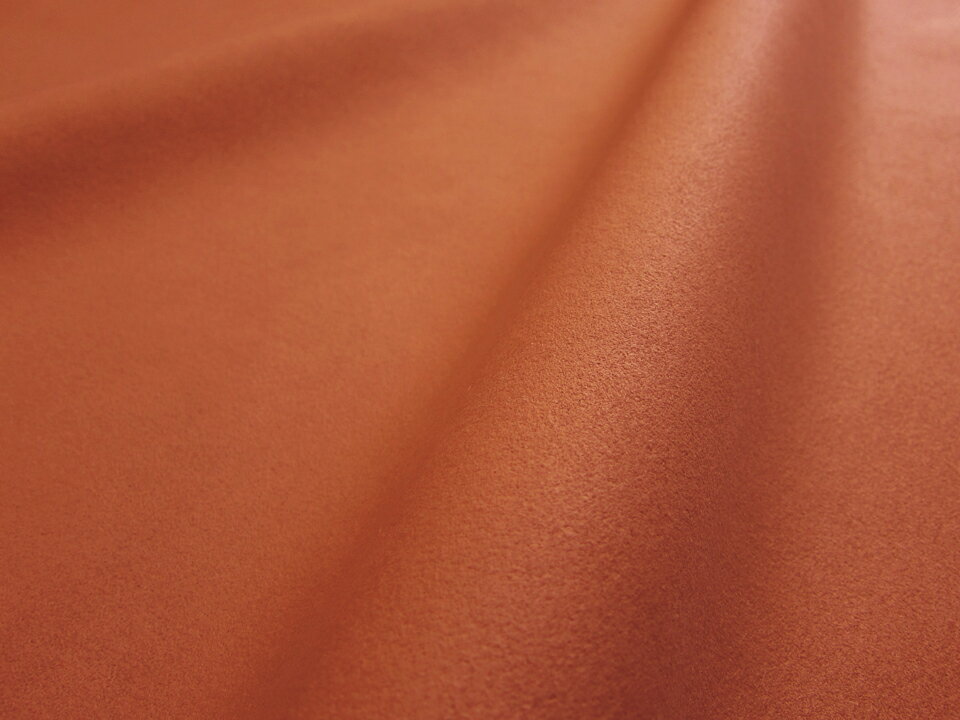 東レ エクセーヌ(アルカンターラ)人工皮革 スエード生地【ダークオレンジ】[ECS-DORG]