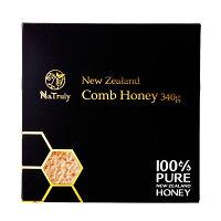 自然のままの貴重なハチミツコムハニー340gハニーバレー(コームハニー巣蜜(巣みつ)