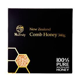 [送料無料] 自然のままの貴重なハチミツ [コムハニー 340g] ハニーバレー コームハニー 巣蜜(巣みつ)[HLS_DU][RCP]