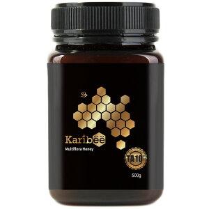 マルチフローラハニー TA10+ 500g Karibee キャリビー マルチフローラハニー オーストラリア産 天然蜂蜜 はちみつ ハチミツ multi flora honey[HLS_DU][RCP]