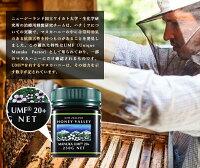 【アクティブマヌカハニーUMF15+*250g】★3個セット無農薬・無添加ニュージーランド天然蜂蜜/はちみつハニーバレー(100%PureNewZealandHoney)【HLS_DU】【RCP】