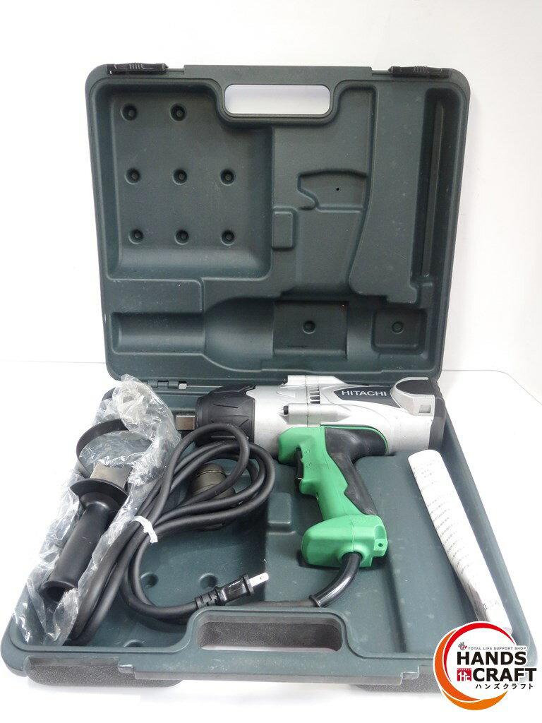 【中古美品】日立工機 インパクトレンチ 22mm 電動 WR22SA ケース・付属品付き【中古】