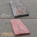 リアル!軽量コンクリート製 枕木 660 グレー・ブラウン 【送料別見積】【通常配送】