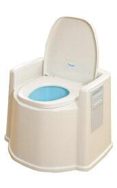 KOWA(幸和製作所) TacaoF(テイコブ) ポータブルトイレ(肘掛け付) PT02 (987514)送料別 通常配送