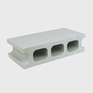 スチロールブロック / 発泡スチロール ブロック グレー サイズ:390×190×100mm 【mono】 118869 送料別 通常配送(160k12) / レンガ レンガブロック