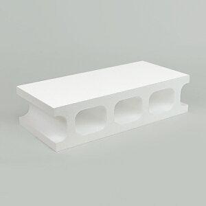 スチロールブロック / 発泡スチロール ブロック ホワイト サイズ:390×190×100mm 【mono】 118885 送料別 通常配送(160k12) / レンガ レンガブロック