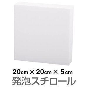発泡スチロール ブロック 白 ホワイト 200×200×50mm
