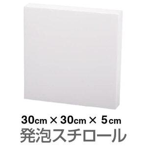 発泡スチロール ブロック 白 ホワイト 300×300×50mm