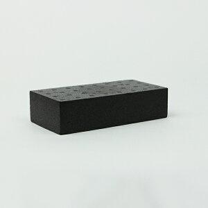 スチロールブロック / 発泡スチロール ブロック K-レンガ ブラック サイズ:200×100×50mm 【mono】 6147380 送料別 通常配送(85k15) / レンガ レンガブロック
