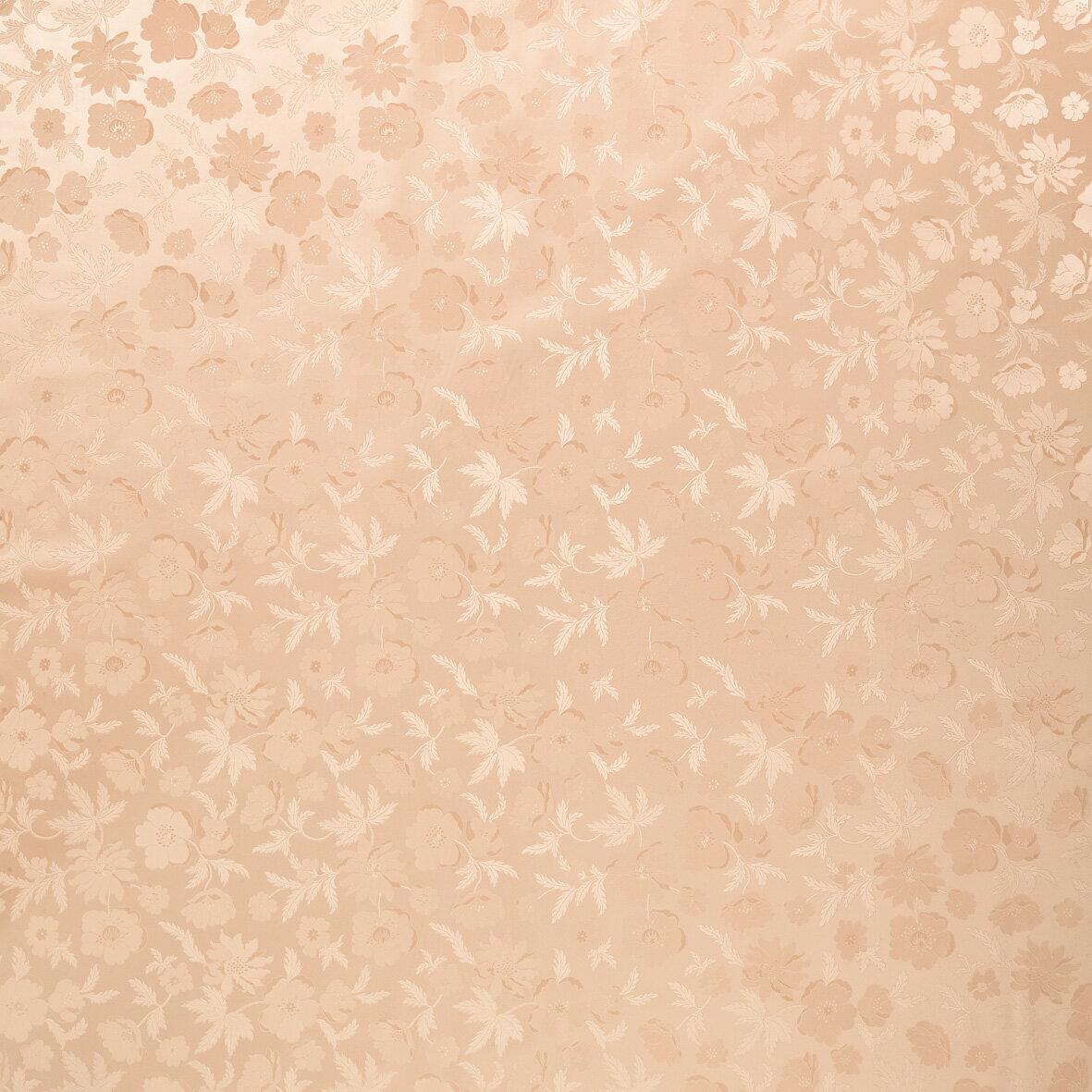 テーブルクロス ダイヤモンドシリーズ ピーチフラワー 67046 幅:140cm 10cm単位切売 商品番号:8647160 【送料別】【通常配送】