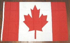 国旗 カナダ 中サイズ 60cm×90cm (6662358)送料別 通常配送