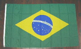 国旗 ブラジル 中サイズ 60cm×90cm (6662528)送料別 通常配送