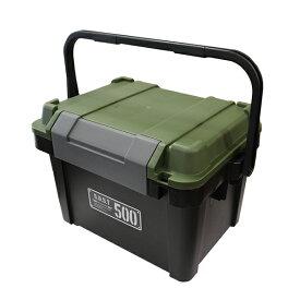 アステージ シールドボックス シャット500 ブラックグリーン (2001179) 取寄せ商品 送料別 通常配送