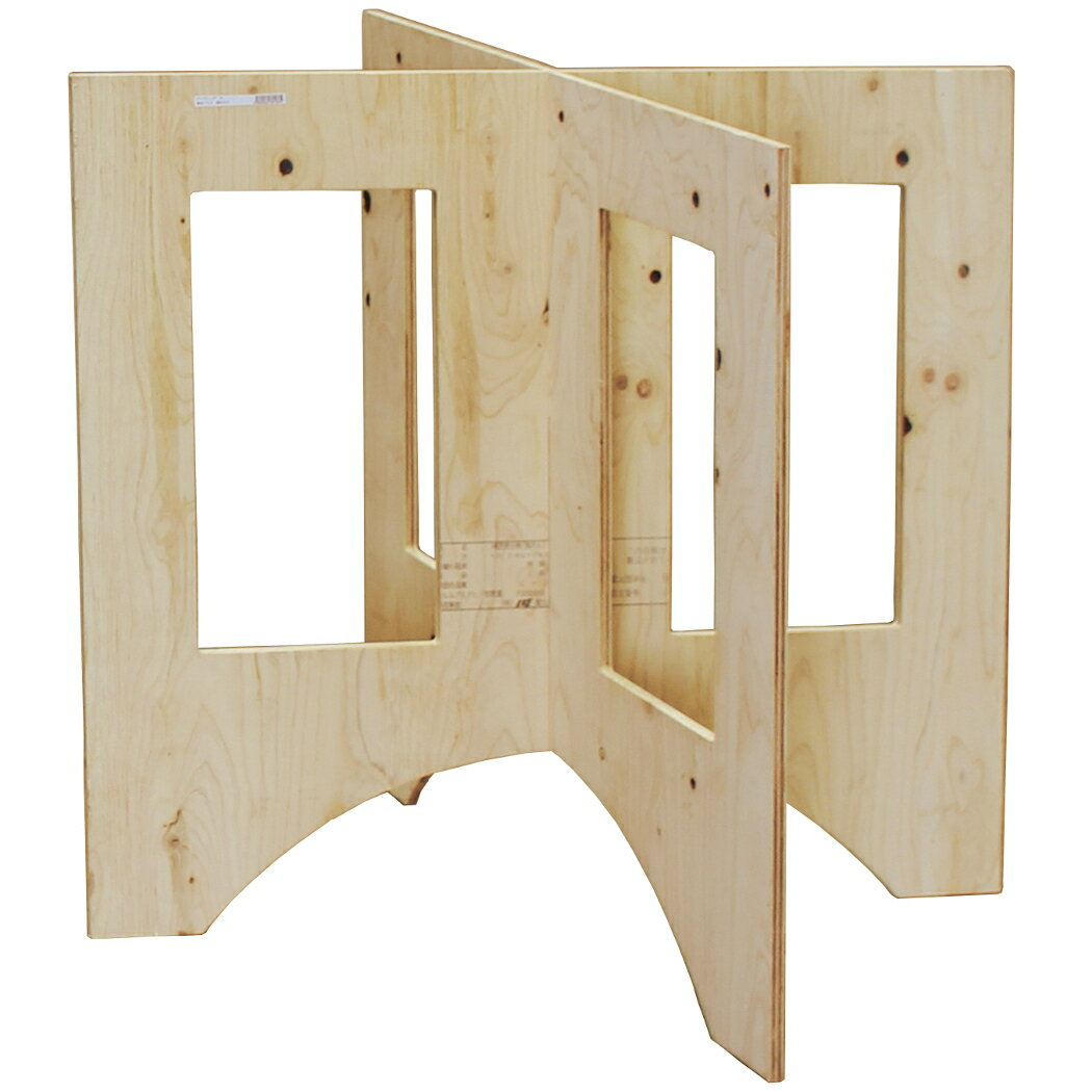 作業台 木製 ワークテーブル / WORK LEG ワークレッグ 作業台用脚 大 高さ75cm 2188589 取寄せ商品 送料別 通常配送