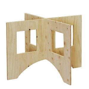 WORK LEG ワークレッグ 作業台用脚 中 高さ58cm 木製 ワークテーブル 脚