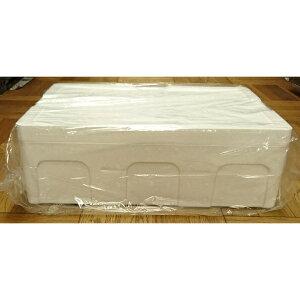 発泡スチロール クーラーボックス / 発泡スチロール容器 T-A-1号 約21L 2375508 取寄せ商品 送料別 通常配送 / 箱 保冷ボックス 発泡ケース