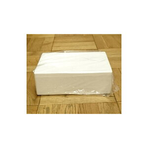発泡スチロール 小型 クールボックス / 発泡スチロール容器 T-0.9 約4L 2375435 取寄せ商品 送料別 通常配送 / 箱 保冷 保冷ボックス 発泡ケース