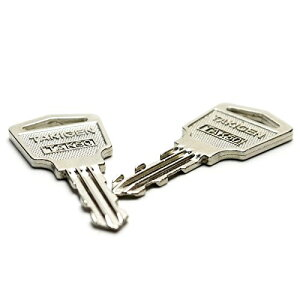 タキゲン(TAKIGEN)TAK50 スペアキー 合鍵 純正品 2本セット