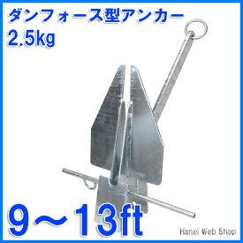 ダンフォース型アンカー2.5kg