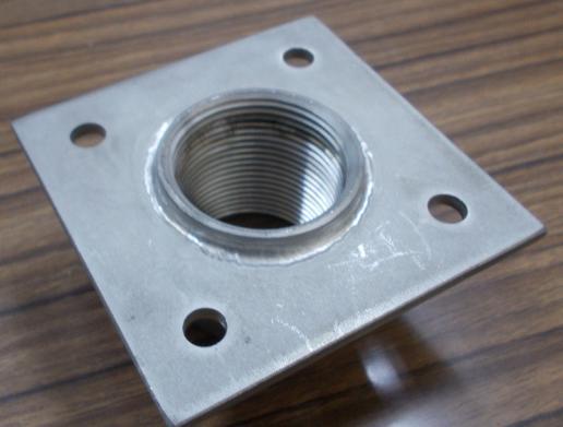 貫通ソケット 貫通ピース 貫通金物 1/2(21.7mm) 材質SUS304