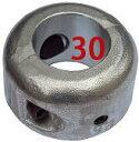 シャフト亜鉛 割型 30mm