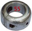 シャフト亜鉛 割型 55mm
