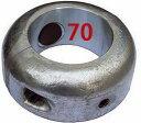 シャフト亜鉛 割型 70mm
