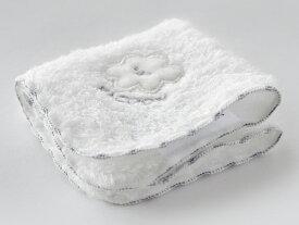 【 公式 】 今治タオル ベビー ハンカチ【合わせ買い限定】雲の上のタオル 白雲 ベビーハンカチ ホワイト 日本製・今治 ・HACOON Baby Handkerchief(ホワイト)
