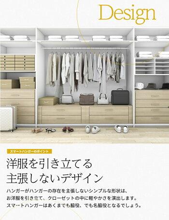 スマートハンガー/10本セットアンティークシルバー【送料無料】
