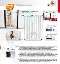 【Carlson】特許が取られたペット・ドアがついたゲート!ィ番人気のゲートです。新発売!カールソンミニゲートMiniGatewithPetDoorホワイト