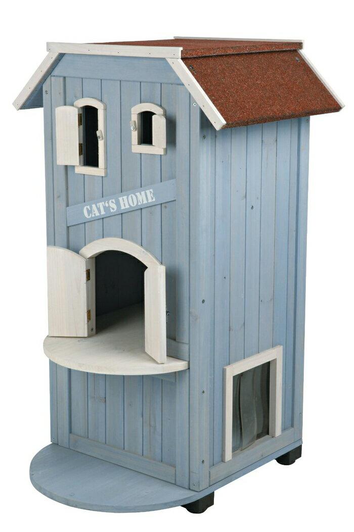 12月下旬入荷予定【ドイツTRIXIE】猫カフェなどからも大人気!ドイツTRIXIE 木製キャットタワー兼ホーム キャットホーム キャットハウス【キャットツリー クローゼット 猫タワー ねこタワー ハンモック 高級 ねこカフェ 猫カフェ ネコノミクス】