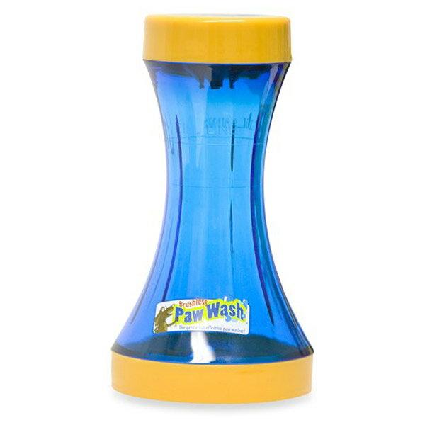 【アメリカPAWWASH】お散歩後のわんちゃんの足を簡単にきれいにできる優れもの!パウウォッシュブラッシュレスボトルS【アウトドア ドライブ おでかけ 雨 レインコート トリミング お散歩 足の汚れ お手入れ パウウオッシュ】