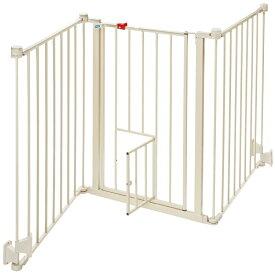 【Carlson】特許が取られたペット・ドアがついたゲート!ベストセラーのゲートです。新発売!カールソン フレキシウォークスルーゲート Flexi Pet Gate carl1510pw 【ゲート ケージ サークル インテリア】