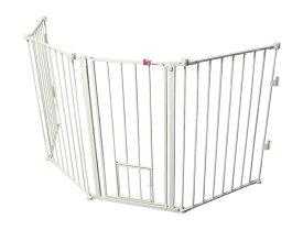 【Carlson】特許が取られたペット・ドアがついたゲート!新発売!カールソン フレキシエクストラトールウォークスルーゲート Flexi Extra Tall Pet Gate (brown box) carl1510hpw 【ゲート ケージ サークル インテリア】