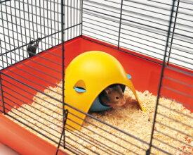 【ベルギーSAVIC】ハウスにもハンモックにもなる球体型のハムスターハウスです。ベルギーサヴィッチ社製 ハムスターハンモック スプートニク【うさぎ ラビット ハムスター フェレット 小動物】