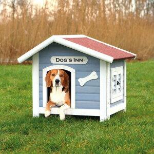 【ドイツTRIXIE】新発売!ドイツTRIXIE 屋外用犬小屋!TRIXIE ナチュラドッグケンネルサドルルーフ L【超大型犬 大型犬 犬小屋 ハウス お出かけ お家】