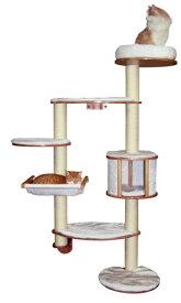 【ドイツKerbl】壁に取り付ける専用のキャットタワーです。ドイツKerbl社キャットタワー ドロミットXL【キャットタワー 爪とぎ プレイボックス ねこカフェ 猫カフェ ネコノミクス】