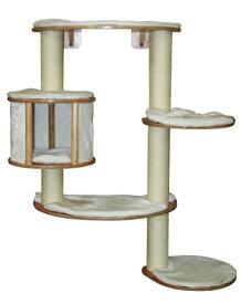 【ドイツKerbl】壁に取り付ける専用のキャットタワーです。ドイツKerbl社キャットタワー ドロミットプロ cat tree white【キャットタワー 爪とぎ プレイボックス ベッド ハウス ねこカフェ 猫カフェ ネコノミクス】