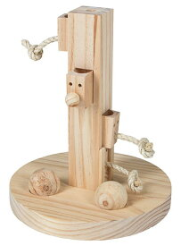 ※ご予約です!3月入荷予定です!※【ドイツKerbl】うさぎちゃん用の知育玩具です。ドイツKerbl社 うさぎちゃんのおもちゃ シンキング&ラーニング トイフィードツリー【うさぎ フェレット ハムスター 小動物】