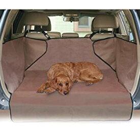 【K&Hペットプロダクツ】ドライブドライブ用後部座席シートカバー エコノミーカーゴカバー タン 【お散歩 ドライブ アウトドア】
