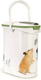 【Curver Pet Life Style】カーバーペットライフ 小動物フードストッカー ロデントフードコンテナ 10L 4kg