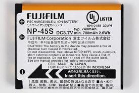 FUJIFILM NP-45S 富士フイルム アウトレット品 Finepix 用 純正 バッテリー NP45S BC-45W 対応