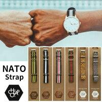 【送料無料】チーポNATOストラップCHEAPONATOWATCHBAND22mm腕時計NATOバンドNATOベルトストラップナイロンベルト北欧ブランド日本未入荷【メール便】