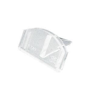カード立 差込固定型小・トーメイ 34-994 | ササガワ(タカ印) 差し込み 差込式 カード立て スタンド プライス クリップ クリップホルダー 値札 プライスカード カード ディスプレイ ポップ用品