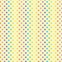 包装紙(レインボードット)【全判・50枚入り・ラッピング用品 カラフル 水玉模様】[繁盛工房]