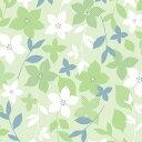 包装紙(ファイングロウ・緑)【半才判・50枚入り・ラッピング用品】[繁盛工房]