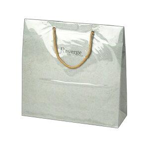 手提げバッグ リバージュミニ グレー 50-6529 | バッグ bag 紙バッグ 紙袋 手提げ袋 マチあり プレゼント ギフト 包装 梱包 誕生日 ギフト シンプル かわいい おしゃれ アクセサリー 小物 レジ