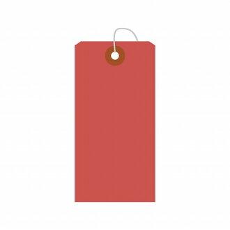 供應品包入彩色標簽中的紅洞100張包本體-縱向90mm×旁邊45mm 100張裝25-2121鷹印花產品SASAGAWA