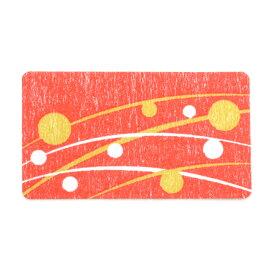 和風シール 長型 ひより 22-980 | 手紙 封緘 シール 少量 簡単 ラッピング ラッピング用品 ギフト ギフト包装 ギフトラッピング プレゼント 贈り物 お礼 女性 包装 和風 和柄 モチーフ 水玉 ドット 横長 封筒 招待状 レッド 赤 桃 赤色 ピンク カラー 紙 ペーパー 紙製